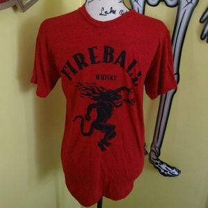 Fireball Red & Black Shirt